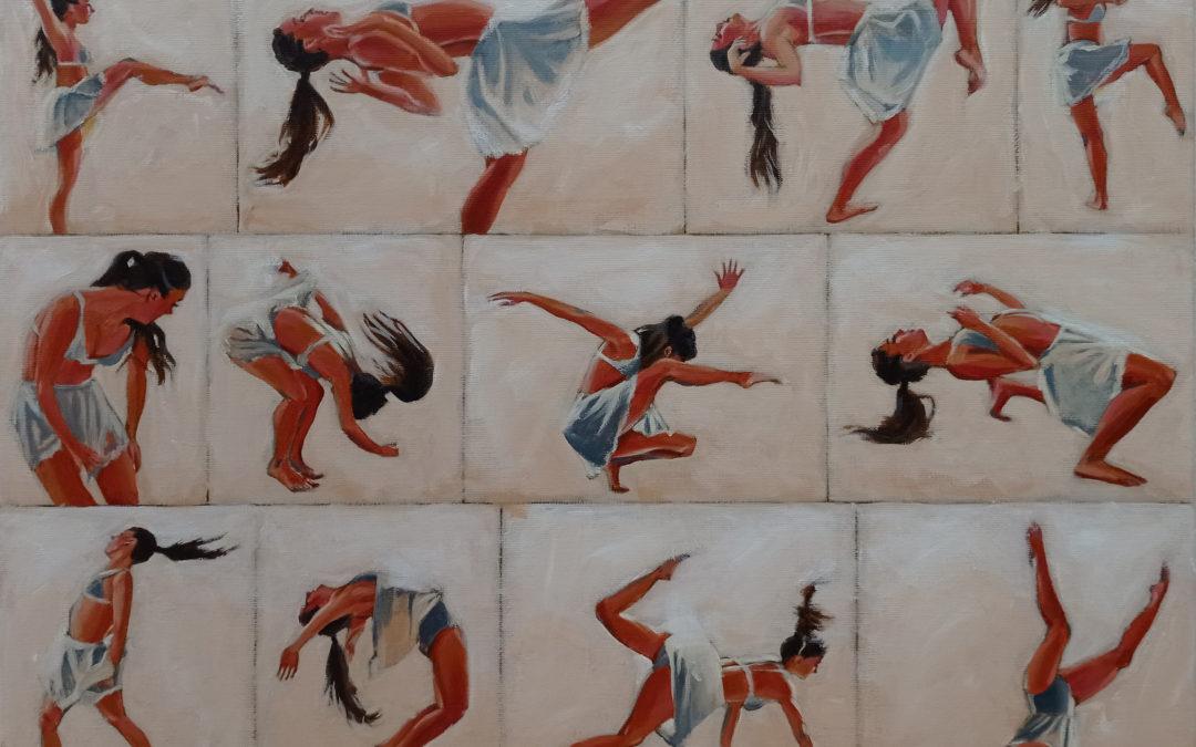 Danseuse en mouvements